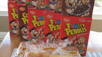Giant Shopping Trip: $52 Worth of Fruity Pebbles, Martin's Rolls ONLY $1