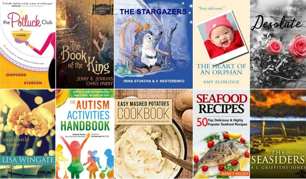 Free ebooks: The Potluck Club, The Seasiders + More Books