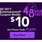 2017 Entertainment Books Only $10.00 (Reg. $35.00) + FREE Shipping
