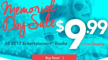 2017 Entertainment Books Only $9.99 (Reg. $35.00) + FREE Shipping