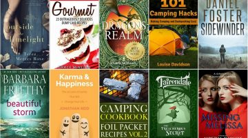 Free ebooks: Camping Cookbook, 101 Camping Hacks + More Books