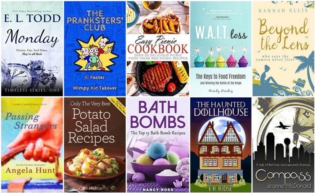 Free ebooks: Bath Bombs, Beyond the Lens + More Books