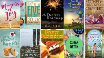 Free ebooks: Moments of Joy, Fruit Popsicles + More Books