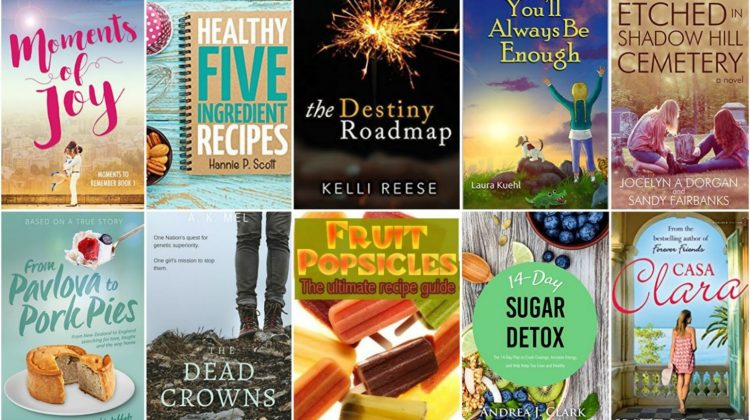 Free ebooks: Moments of Joy, Fruit Popsicles + More Books