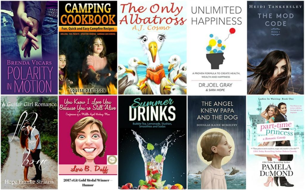 Free ebooks: Camping Cookbook, Unlimited Happiness + More Books