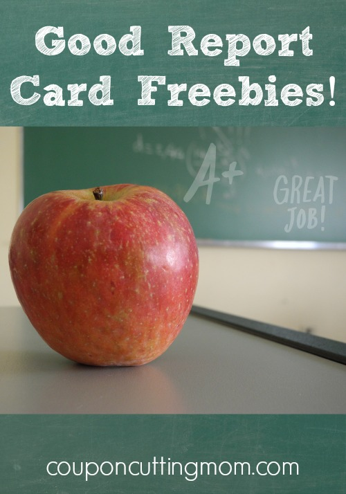 Reward Your Kids With Good Report Card Freebies