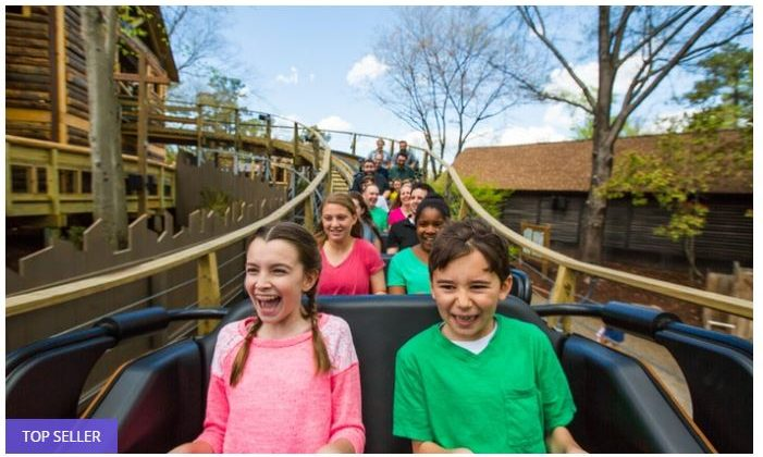 Busch Gardens Williamsburg & Water Country USA 50% off Regular Ticket Price