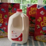 Giant: 4 General Mills Cereals + 1 Gallon of Milk ONLY $2.96