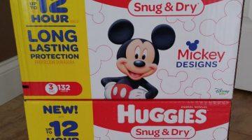 Huggies Diapers ONLY $10.49 Per Box (Reg. Price $24.99)