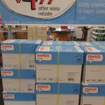 4 Reams Staples Copy Paper ONLY $1.00 (Reg. Price $19.99)