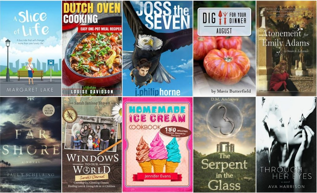 Free ebooks: A Slice of Life, Dutch Oven Cooking + More Books
