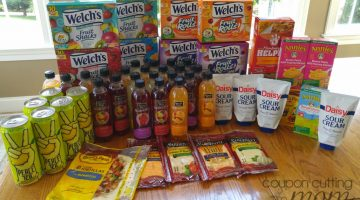 Giant Shopping Trip: $106 Worth of Welch's, Daisy, Sargento and More FREE + $3 Moneymaker
