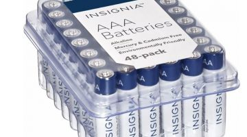 Insignia Batteries AA or AAA (48-Pack) $7.99 (Reg. Price $14.99)