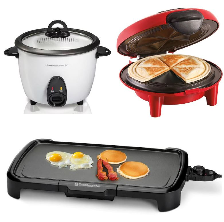 HOT* FREE Toastmaster and Hamilton Beach Small Kitchen Appliances