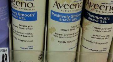 Giant: HOT Moneymaker on Aveeno Shave Gel
