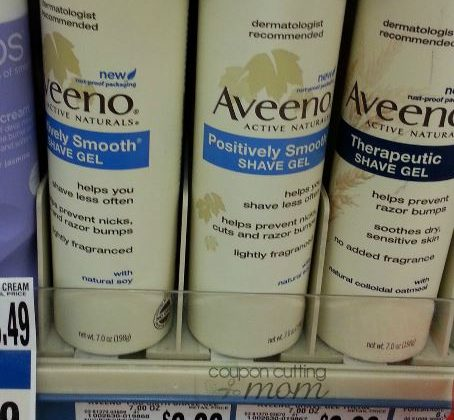 Giant: HOT Moneymaker on Aveeno Shave Gel