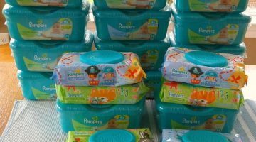 Giant Shopping Trip: 20 Packs Pampers Wipes FREE + $2.20 Moneymaker