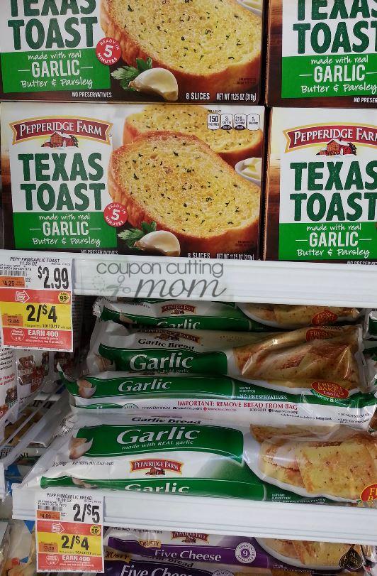 Giant: Pepperidge Farm Texas Toast Moneymaking Deal