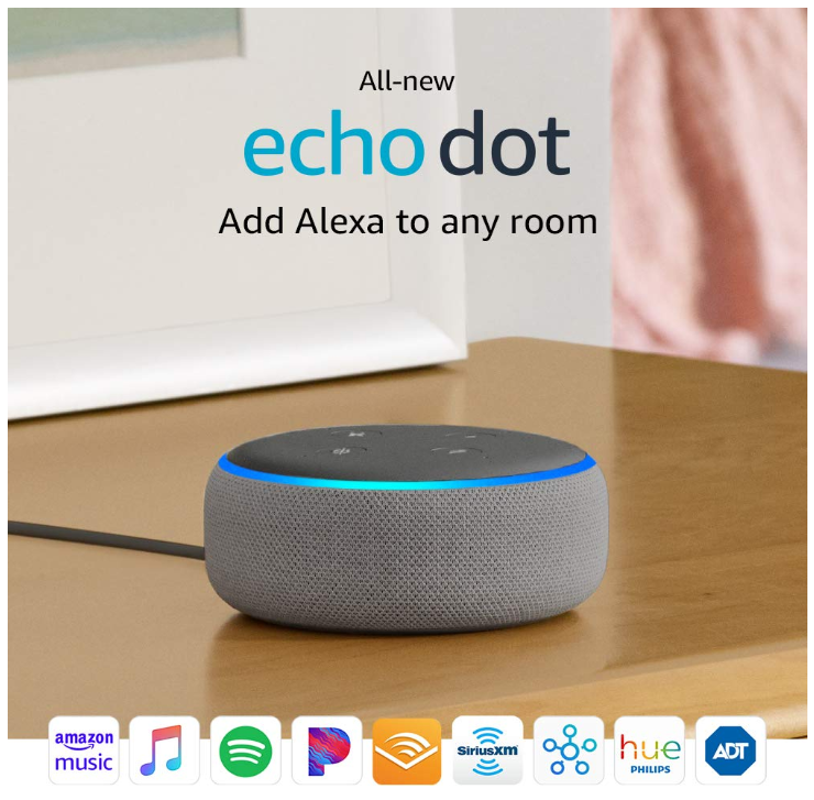 All-new Echo Dot (3rd Gen) - 40% Off Regular Price