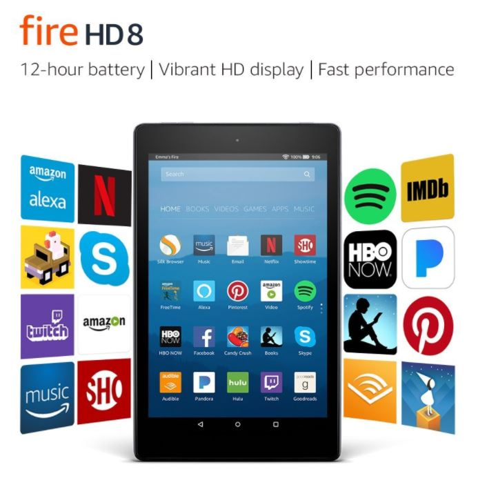 *HOT* Kindle Fire HD 8 Tablet ONLY $49.99 (Reg. Price $79.99)