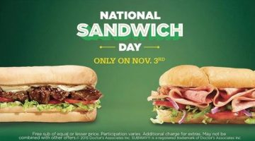 Subway: Buy a Sub and Drink and Score a FREE Sub