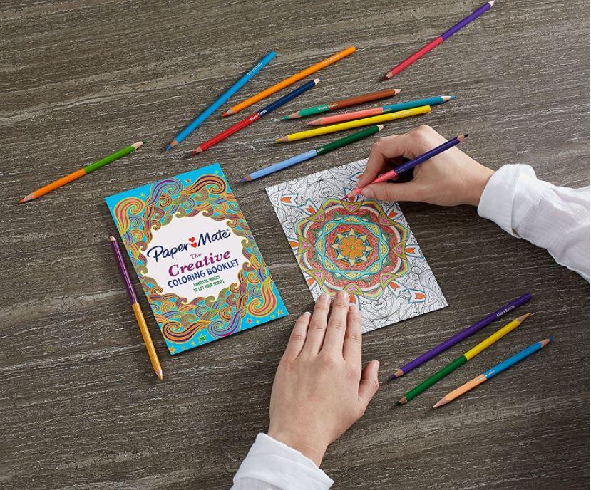 Paper Mate Colored Pencils Coloring Kit - 50% Off Regular Price