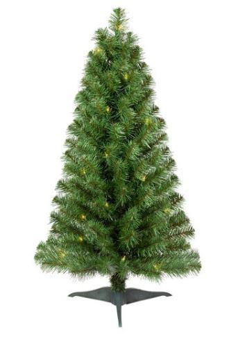 Wondershop Alberta Spruce Artificial Prelit Christmas Tree ONLY $12.99 (Reg. Price $24.99)