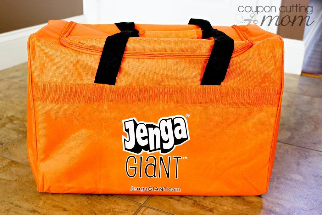 Fun Game Night With Jenga GIANT That Stacks Over 5' High