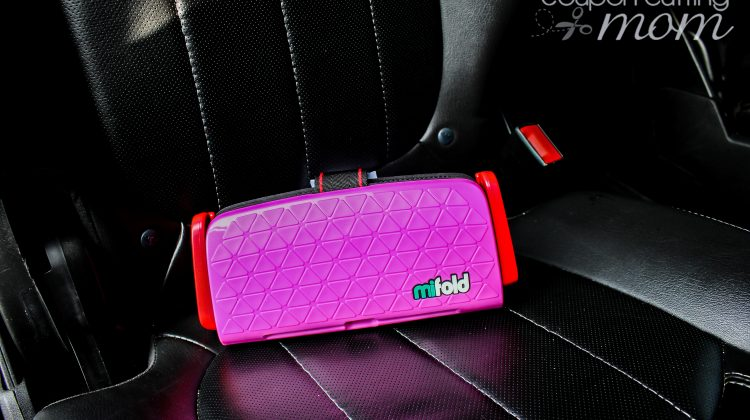 Make Travel With Kids Easy With mifold the Grab and Go Booster Seat
