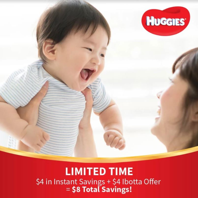 Save On Huggies Diapers With Sam's Club and Ibotta