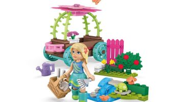Mega Construx WellieWishers Cheerful Carriage Camille Buildable Playset – 41% Off Regular Price