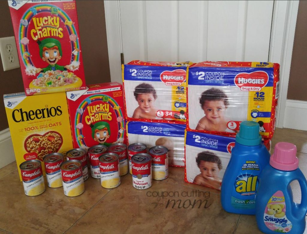 Giant Shopping Trip - $66 Worth of Campbell's, GM Cereal and More ONLY $11.48