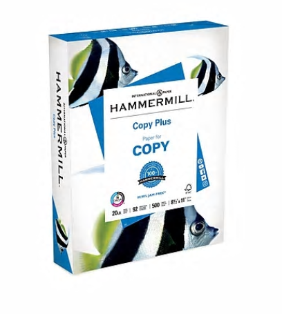FREE Hammermill Copy Plus Paper at Staples