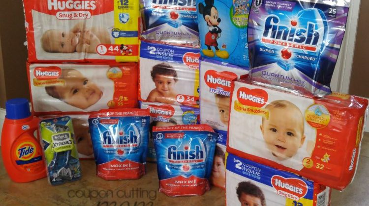 Rite Aid Shopping Trip – $186 Worth of Huggies, Finish and More ONLY $17.90