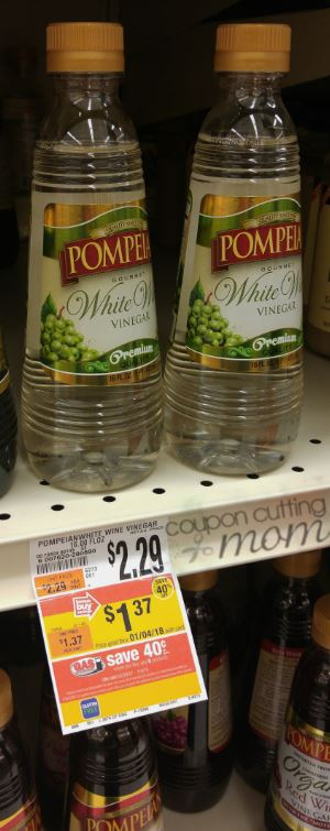 Pompeian Vinegar Moneymaker at Giant