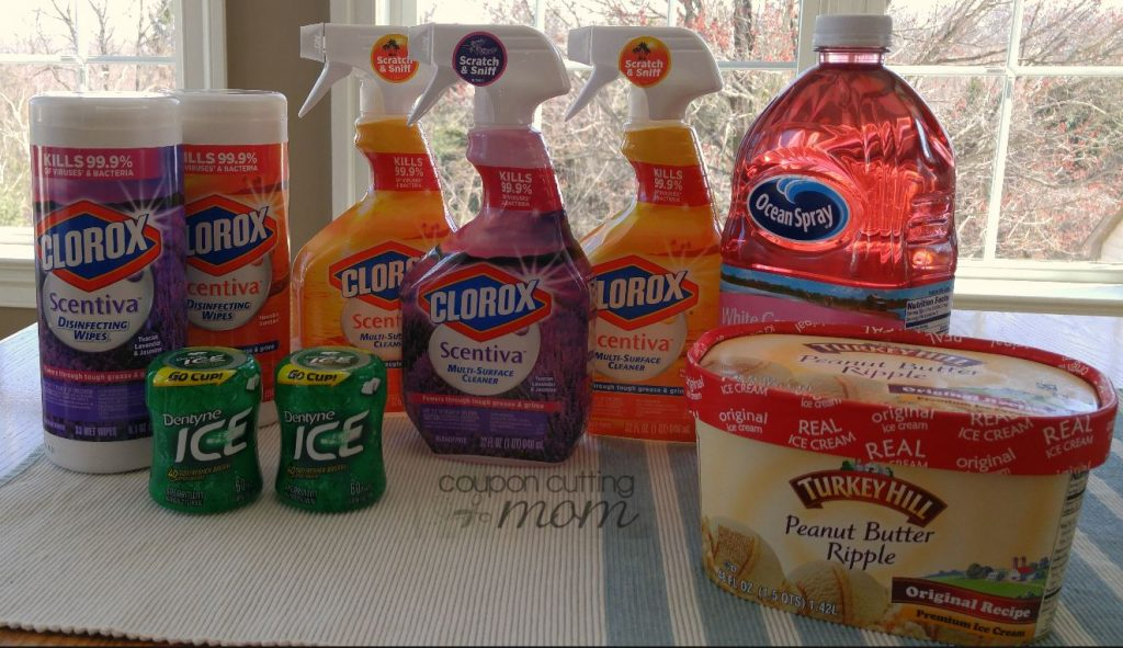 Giant Shopping Trip: $28 of Clorox, Ocean Spray and More ONLY $2