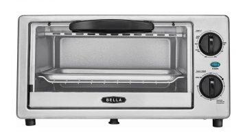 Bella 4-Slice Toaster Oven ONLY $14.99 (Reg. Price $29.99)
