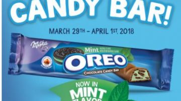 $1 OREO Mint Chocolate Candy Bars + a FREE Candy Bar