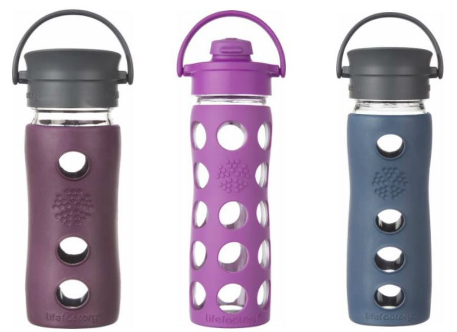 Grab a new LifeFactory Water Bottle for the gym - on sale today only from Best Buy!