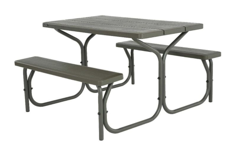 Lifetime 4-Foot Picnic Table 50% Off Regular Price