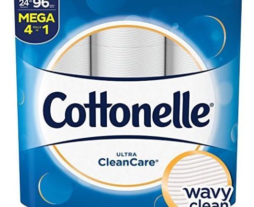 Cottonelle Ultra CleanCare Bath Tissue Only $0.18 Per Single Roll + FREE Shipping