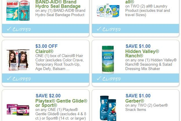 Get Today's Newest Printable Coupons Now