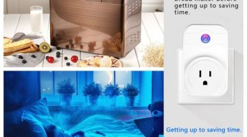 Arrinew Smart Plug Wifi Mini Socket Outlet Only$12.99 – 67% Off Regular Price