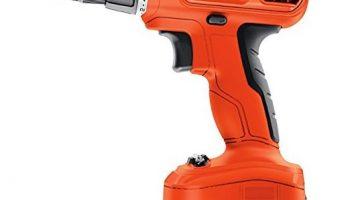 Black & Decker 12-Volt Cordless Drill 50% Off Regular Price