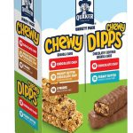 Quaker Chewy Granola Bars and Dipps Variety Pack ONLY $7.72 (Reg. Price $11.28)