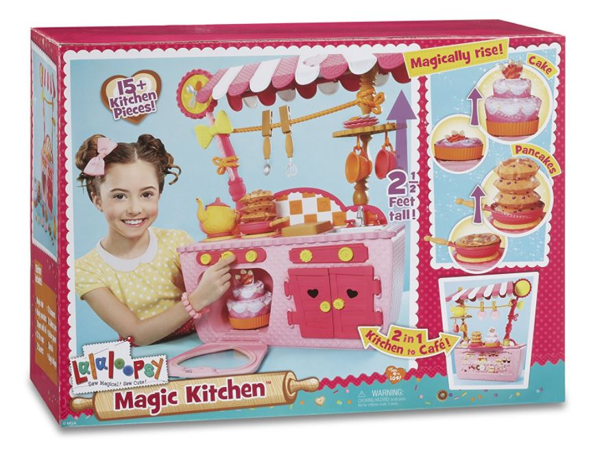 Lalaloopsy Magic Play Kitchen and Café ONLY $13.68 (Reg. Price $69.99)