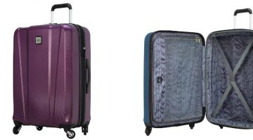 Skyway Oasis Hardside Spinner Luggage ONLY $25.99 – Reg. Price $224.00