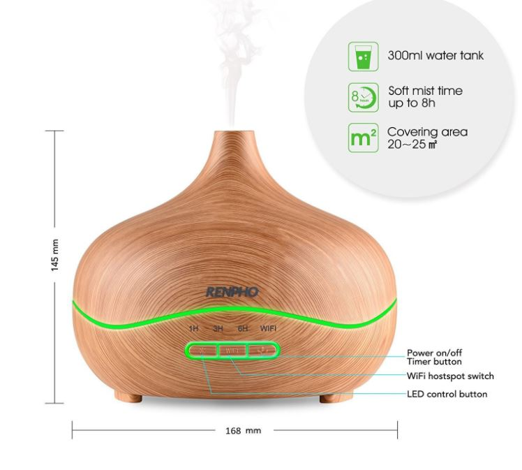 Essential Oil Diffuser Only $23.19 (Reg. Price $59.99)