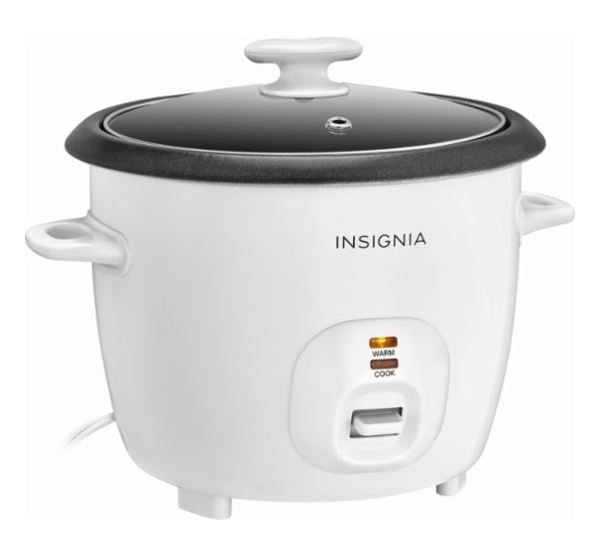 Insignia 2.6-Quart Rice Cooker 50% Off Regular Price