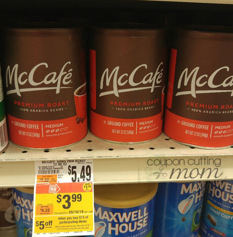 Giant: McCafe Premium Roast Coffee ONLY $1.99 (Reg. Price $5.49)